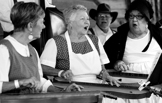 Members of a Dulcimer band performing at the 2012 Harvest Festival at Heritage Village. Click the photo to check out some photos from the event. (Jim Powers Photow)