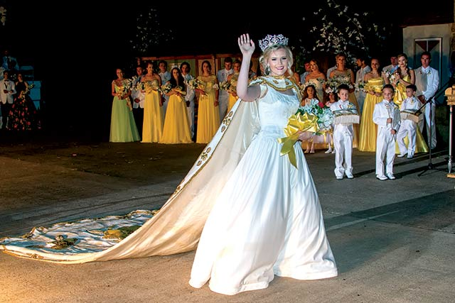 Dogwood Queen crowned during 74th Annual Pageant—Cayla Greer of Chester was crowned the 74th Dogwood Queen during the pageant and play held Saturday night in Woodville. Victoria Scoggins of Woodville was named Princess of Tyler County, and Macy Hammons of Jacksonville was named Grand Duchess. You can check out photos from this year's Dogwood Festival on Pg. 7B in this issue. (Jim Powers Photo)