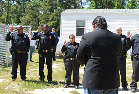 Alabama-Coushatta swear in law enforcement officers