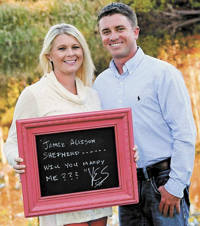 Shepherd - Vardeman engagement announced
