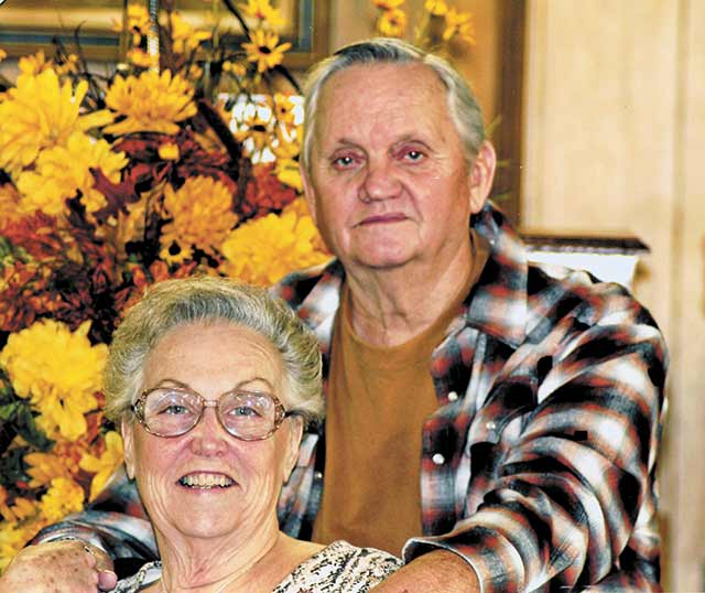 Mr. and Mrs. Larry Brown celebrate 50 years