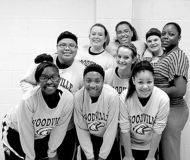 2013-14 Woodville Lady Eagles Junior Varsity District Champions.