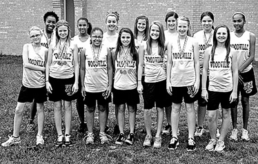 7th Grade Girls Track District Champs Left to right:  Bottom Row- Kayla Fontenot, Victoria Scoggins, Alexis Wigley, Jordan Ogden, Macy Hammons,Gracin McCollum, Bryce Mitchon Left to Right: Top Row- Bethany Mitchell, Lyndsey Kinard, Chloe Weeks, Haley Briers, Shelby Mixon, Baylee Battise, Raven Perkins