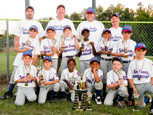 Machine Pitch All-star team clinches First Place