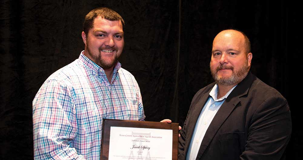 Spivey receives Early Career Award