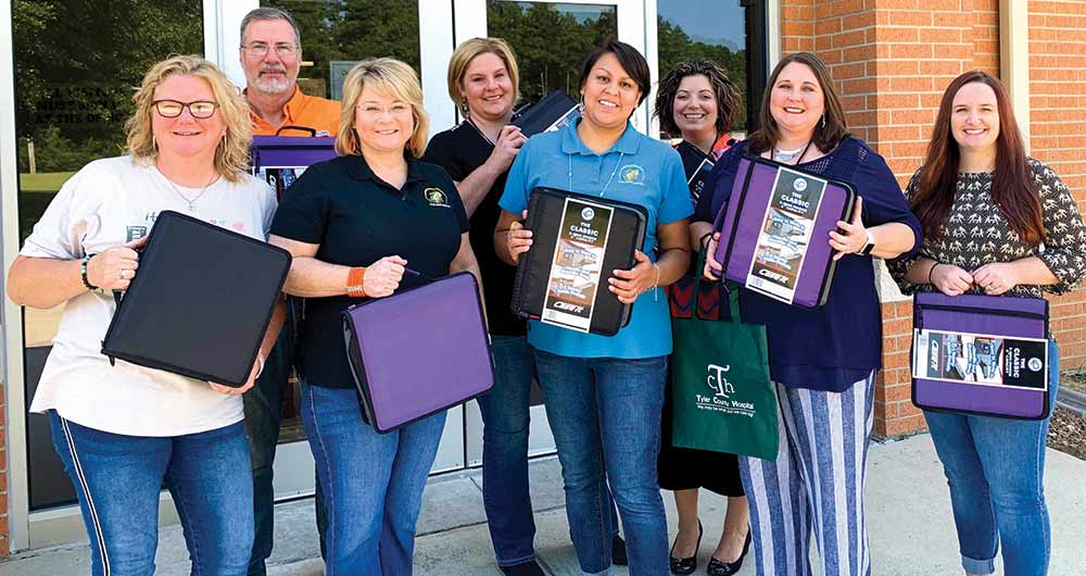Tyler County Hospital donates for school supplies