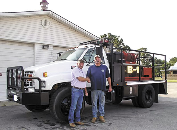 Colmesneil VFD gets new brush truck