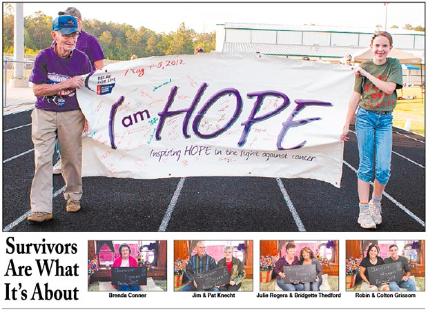 Tyler County Relay for Life April 26