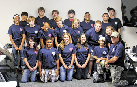 Twenty five students attend PD's Teen Police Academy