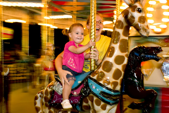 Lots of fun at Thursday night's Tyler County Fair Carnival