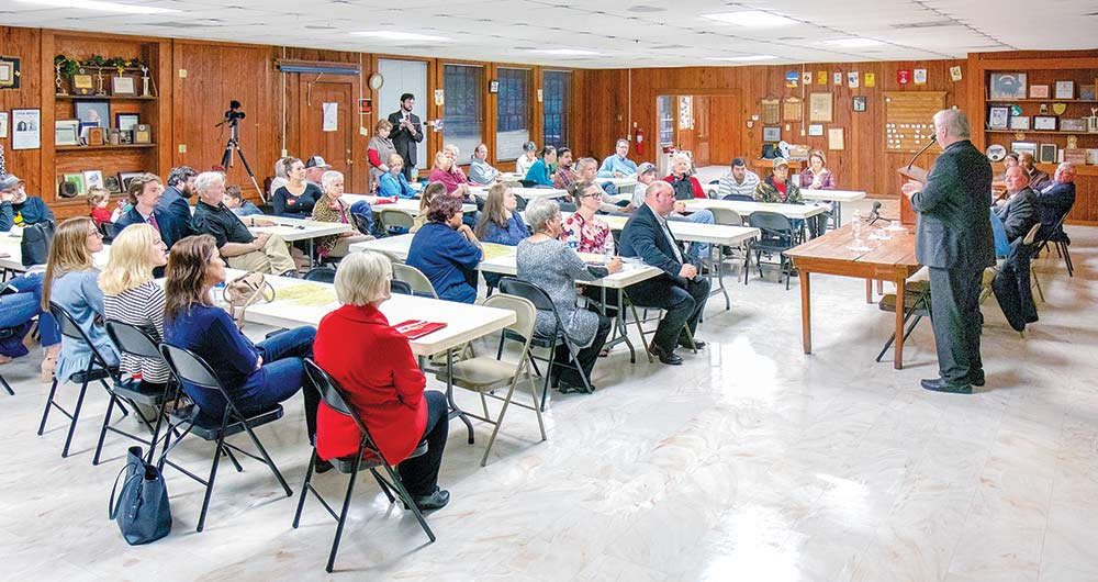 Tyler County TBW holds Political Forum