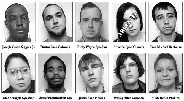 Most Wanted Felony Offenders