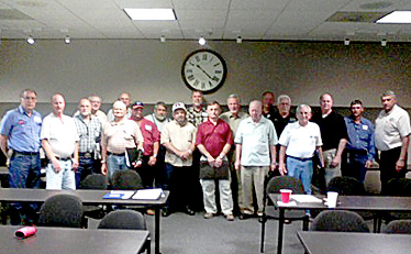 TC Emergency Service District Commissioners attend training