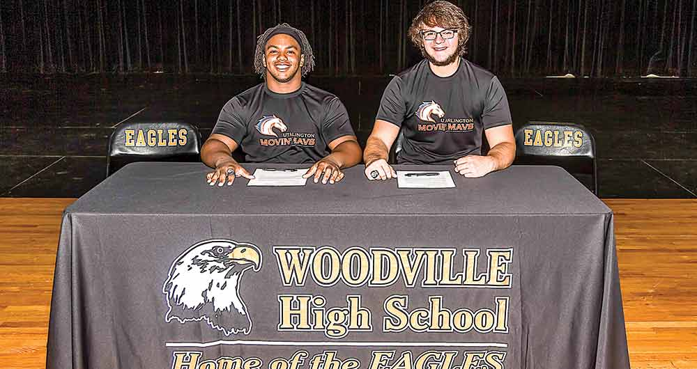 Woodville seniors to play wheelchair basketball for UT Arlington