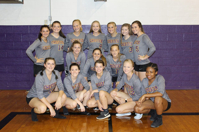 Lady Jacket Volleyball starts with a win