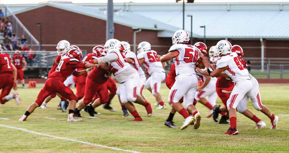 Bulldogs put up good fight  against Deweyville Pirates