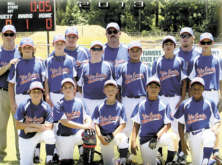 Tyler County earns 2013 Texas 12U State Champion Title